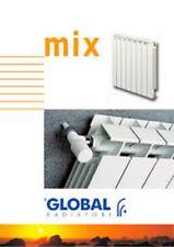 Elemento termosifone radiatore alluminio  Global MIX  BIANCO