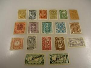 Vintage Austrian 1919-1922 Unused Stamps Lot of 18