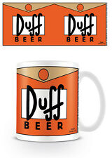 THE SIMPSONS DUFF BEER MUG NEW GIFT BOXED 100 % OFFICIAL MERCHANDISE