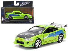 1995 Brian's Mitsubishi Eclipse 2001 Fast and Furious Jada Toys 1:32 Scale Model