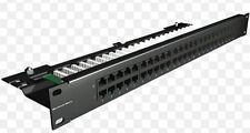 Brand-Rex Patch Panel Cat3 Precaricato 50 Porte C5CPNLU506PK2 Data Telephone