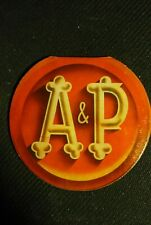 New A&P Antique Sewing Needle Threader Kit Round Cardboard Case West Germany