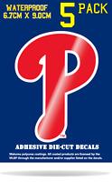 MLB Philadelphia Phillies Vinyl Decal Sticker Phone Window Car Truck Bumper Wall