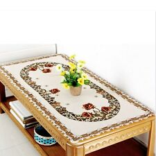 Yazi Embroidered Tablecloth Cover Doily Pillowcase Table Cloth Runner Placemats 000636 1pc 60x120cm