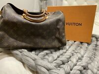 Louis vuitton bag speedy 30 With Padlock