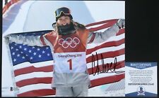 WINTER OLYMPICS!!! Chloe Kim Signed USA Snowboarding GOLD MEDAL 8x10 Photo #1BAS