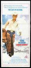 JUNIOR BONNER Original Daybill Movie Poster Steve McQueen Ida Lupino