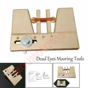 1 piece/package Wooden Dead Eyes Mooring Tools Fix Tool for Wood Ship Model Kit