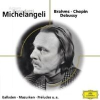 ARTURO BENEDETTI MICHELANGELI - BRAHMS CHOPIN DEBUSSY  CD NEUF