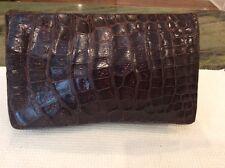Vintage Aligator 1940's Clutch handbag