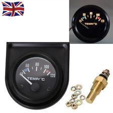 """40-120℃ Universal Car Van 2"""" 52mm Digital LED Water Temp Temperature Gauge Kit"""