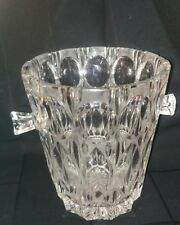 Ice Bucket Wine Bucket Crystal Thick and Heavy Crystal Large Size Excel. Cond.