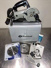 Rockwell Model 314 HD 4 1/2 Trim Saw w/Case
