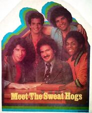"Original ""Meet The Sweat Hogs� Welcome Back Kotter Iron On Transfer"