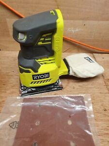 Ryobi  p440 1/4 sheet sander  one + 18v  tool only