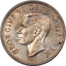 1952 CANADA SILVER DOLLAR WWL - KM-46 - AU