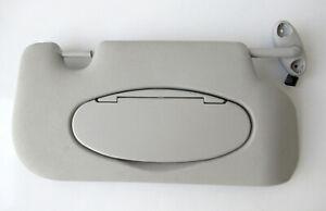 Genuine Used MINI O/S Drivers Side Grey Sun Visor (Vanity lights) R56 R55 #91