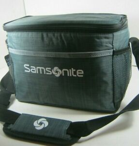 Samsonite Insulated Lunch Box Or Cooler Bag Black Red Gray Blue Multiple New NWT