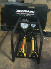 New Listingdresser Rand Enerpac Hydraulic Hand Pump Double Assembly 000 028 952 Rev 1