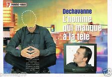 Coupure de Presse Clipping 2000 (4 pages) Christophe Dechavanne