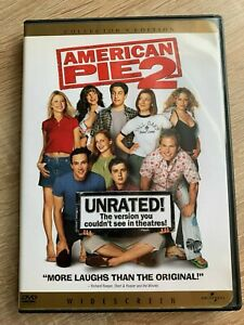 American Pie2 2002 Region 1 NTSC Unrated Widescreen Collectors Edition DVD B10TR
