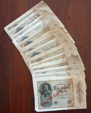 Lot von 50 x Rosenberg Nr. 110, 1Mrd. 1922