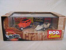 2000 100% Hot Wheels Rod & Custom 2 Car Set