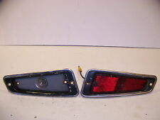 1970 CHRYSLER IMPERIAL RED SIDE MARKER LIGHTS OEM LEBARON