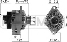 210665A Alternatore MESSMER Alfa 147,156,159 1.9 JTD dal 02 al 11, Opel Vectra