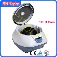 5000 rpm Low Speed Lab Electric PRP Centrifuge 15ml*6 tubes 110V/220V