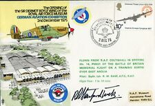 RAF cover signed by WW2 Battle of Britain ace Bob Stanford-Tuck DFC