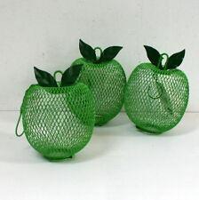 """Mangeoir oiseaux à suspendre / photophore """"pomme"""""""