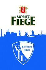 Hissflagge Fahne VfL Bochum VfL und Fiege Flagge - 100 x 150 cm