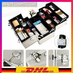 Kosmetikkoffer Schminkkoffer Beauty Case Friseurkoffer Alu Nageldesignkoffer DE