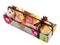 Bomb Cosmetics Hawaiian Flower Pack of 5 Bath Blaster Mallow Soap Christmas Gift