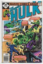 Incredible Hulk 215 Whitman Variant Avengers Infinity War
