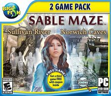 Sable Maze hidden object 2 game pack PC Games Windows 10 8 7 XP Computer mystery