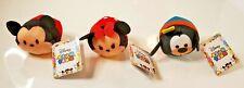 "Disney ""Tsum Tsum"" Micky & Minnie & Goofy Set Mini Plush Characters Toy - NWT"
