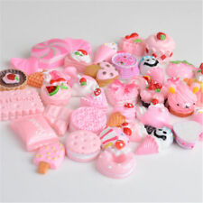 10pcs Pink Blessing Squishy Hard Charms Squeeze Slow Rising Toy Collection Gift