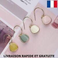 Boucle D'oreille Original Bijou Femme Cadeau Soirée Mariage Fête Des Mères Mode