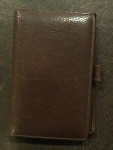 Authentic COACH Leather Address Book: #8756/Black - Never Used with Tags