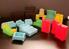 Vintage Miniature Toys - Furniture - Lot of 15 items