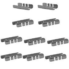 10 Pcs Center Shelf Rest Clip For Brackets To Hang Glass Wood Or Metal Shelf