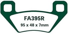 EBC PASTILLAS FRENO fa395r PARA ARCTIC CAT TRV 700 tras. EFI Cruiser 2-up 09-10