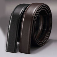 Men's Casual Waistband Genuine Leather Belt Automatic Buckle Waist Strap Belts