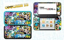 SKIN STICKER AUTOCOLLANT - NINTENDO NEW 2DS XL - REF 209 POKEMON