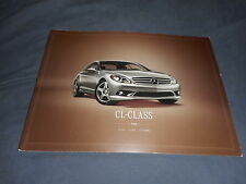2008 Mercedes Benz CL C Class USA Market Huge Color Catalog Brochure Prospekt