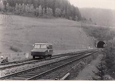 orig. FOTO DB kleinwagen mergrießtunnel Bad. schwarzwaldbahn 1972 (AF27)
