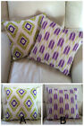 Gorgeous Purple and Green Cushion Covers