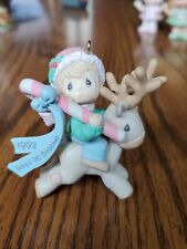 Precious Moments 1992 Baby's First Christmas Ornament